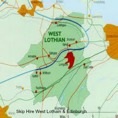 Skip Hire West Lothian